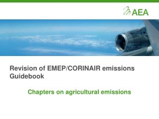 Revision of EMEP/CORINAIR emissions Guidebook