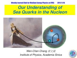 Our Understanding of  Sea Quarks in the Nucleon