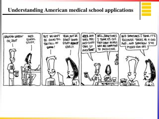 Understanding American medical school applications