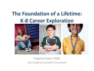 The Foundation of a Lifetime:  K-8 Career Exploration