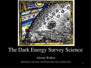 The Dark Energy Survey Science