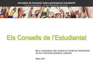 Els Consells de l'Estudiantat