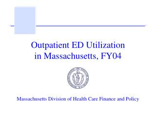 Outpatient ED Utilization in Massachusetts, FY04