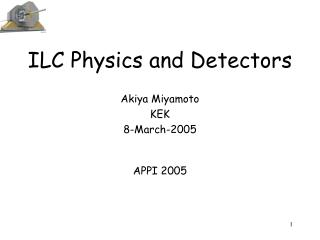 ILC Physics and Detectors