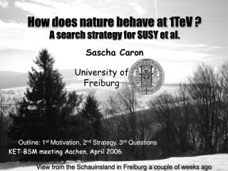 KET-BSM meeting Aachen, April 2006
