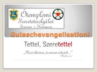 Gulaschevangelisation !