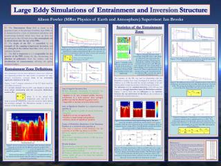 Large Eddy Simulations of Entrainment and  Inversion  Structure