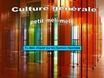 Culture g n rale