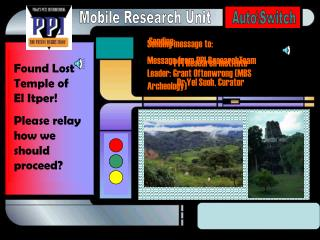 Sending message to: PPI Research Institute Dr.Yel Suoh, Curator