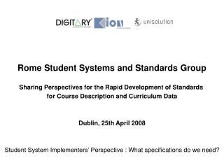 Student System Implementer's Perspective