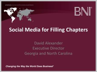 Social Media for Filling Chapters