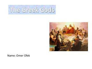 The Greek Gods