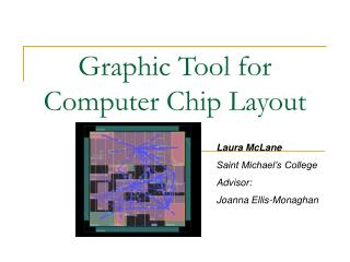 Graphic Tool for  Computer Chip Layout