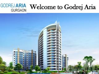 Godrej Aria New Project @ 9891856789