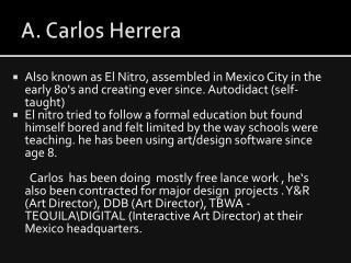 A. Carlos Herrera