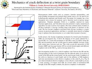 Mechanics of crack deflection at a twist grain boundary