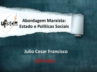 Julio Cesar Francisco