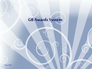 GB Awards System