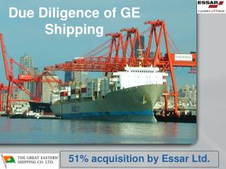 Due Diligence of GE Shipping