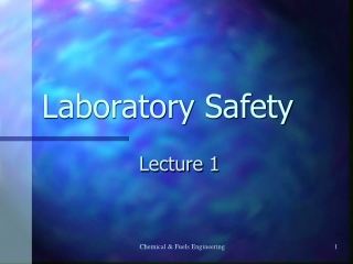 Chemical Spill Response Planning for Laboratories