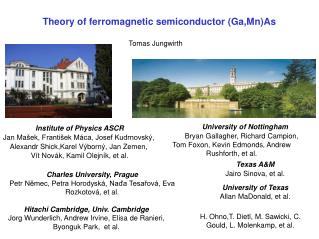 Theory of ferromagnetic semiconductor (Ga,Mn)As