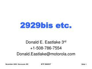 2929bis etc.
