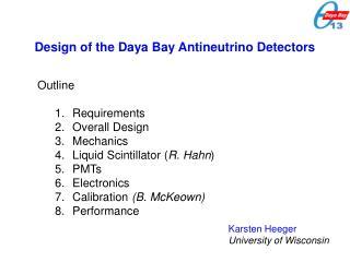 Design of the Daya Bay Antineutrino Detectors