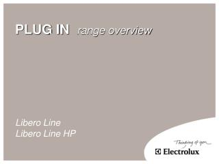 PLUG IN   range overview