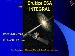 Dru žice ESA  INTEGRAL