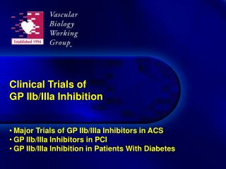 Clinical Trials of  GP IIb/IIIa Inhibition