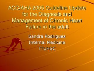 Sandra Rodriguez Internal Medicine TTUHSC