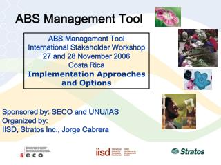ABS Management Tool