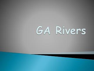 GA Rivers