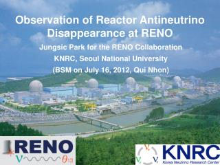 Observation of Reactor Antineutrino Disappearance at RENO