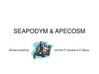 SEAPODYM  APECOSM