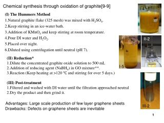 Chemical synthesis through oxidation of graphite[9-9]