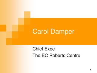 Carol Damper