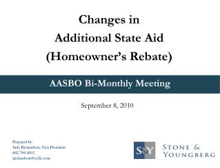 AASBO Bi-Monthly Meeting