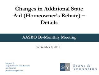 AASBO Bi-Monthly Meeting