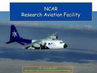 NCAR Research Aviation Facility