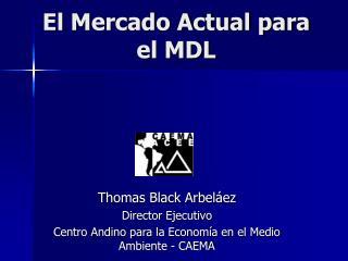 El Mercado Actual para el MDL
