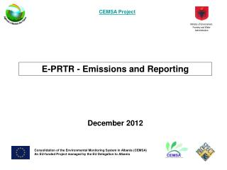 E-PRTR - Emissions and Reporting