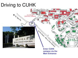 Driving to CUHK