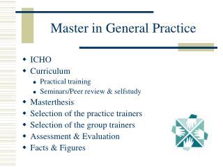 Master in General Practice