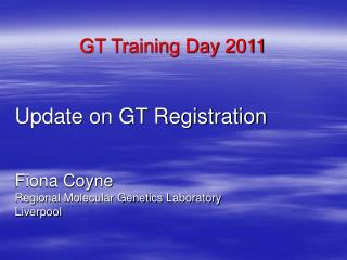 GT Training Day 2011