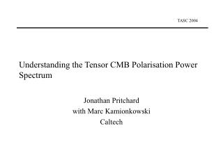 Understanding the Tensor CMB Polarisation Power Spectrum