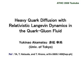 Heavy Quark Diffusion with Relativistic Langevin Dynamics in the Quark-Gluon Fluid