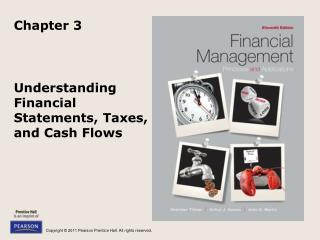 Understanding Financial Statements, Taxes, and Cash Flows