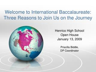 Welcome to International Baccalaureate: Three Reasons to Join Us on the Journey