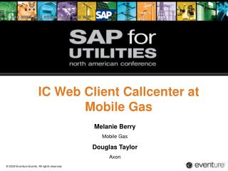 IC Web Client Callcenter at Mobile Gas